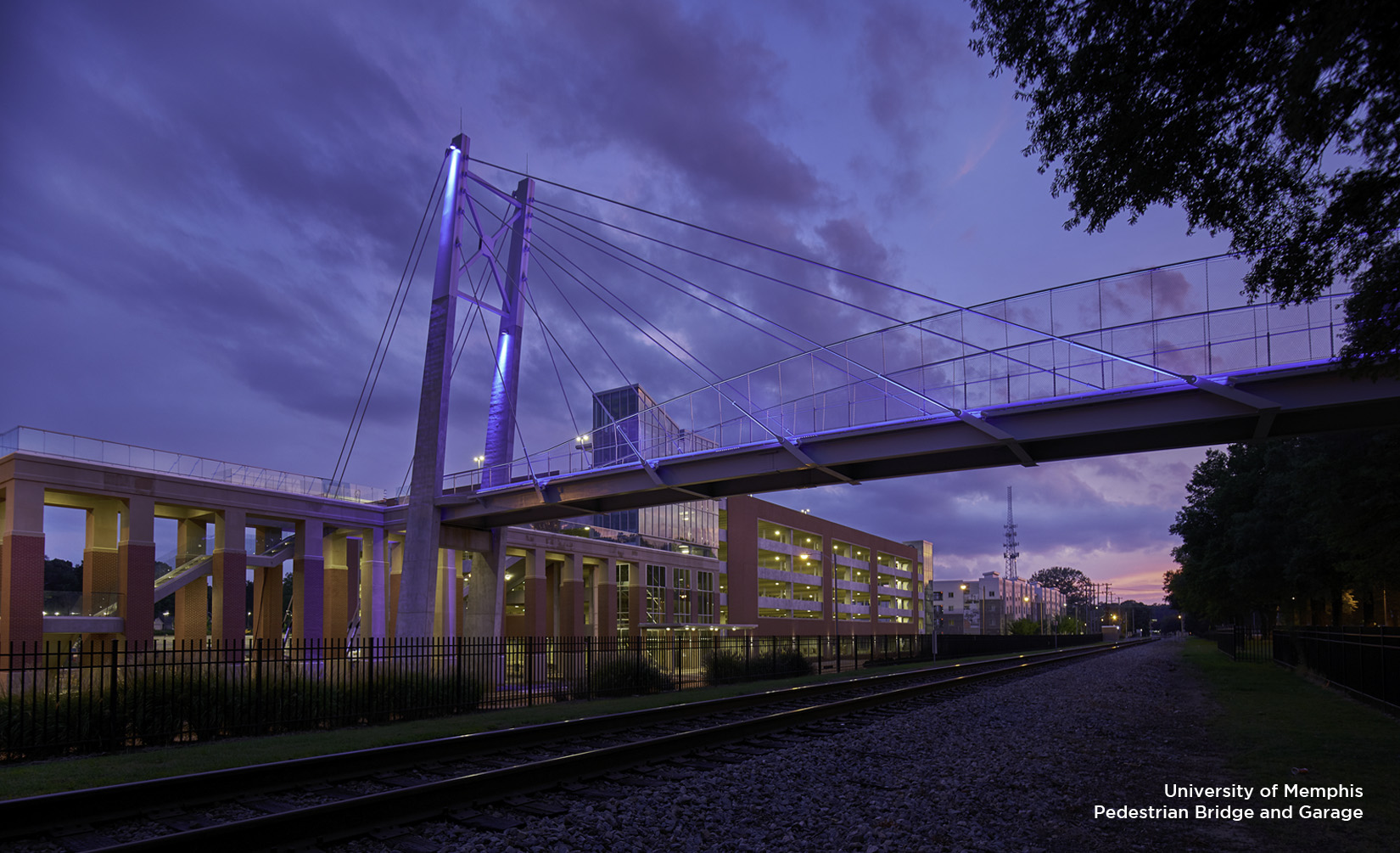 University of Memphis Pedestrian Bridge